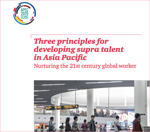 Three principles for developing supra talent in Asia Pacific