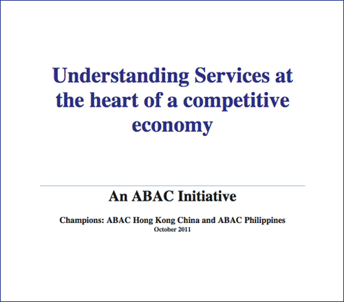 Understanding Services at the heart of a competitive economy