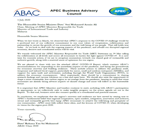 ABAC COVID-19 Report