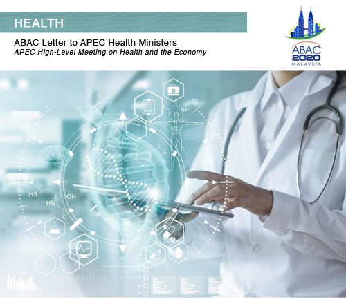 ABAC 2020 Letter to APEC Health Ministers