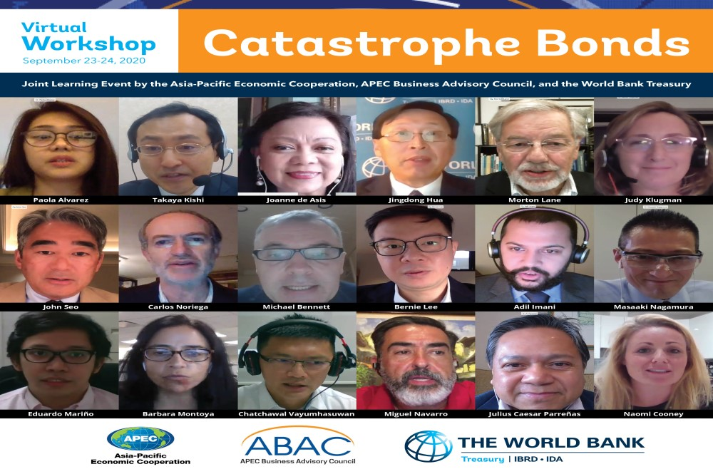WB Treasury and ABAC/APFF hosts APEC Virtual Catbond Workshop