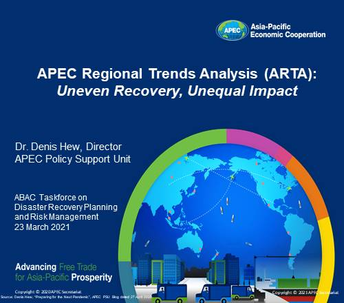 APEC Regional Trends Analysis: Uneven Recovery, Unequal Impact