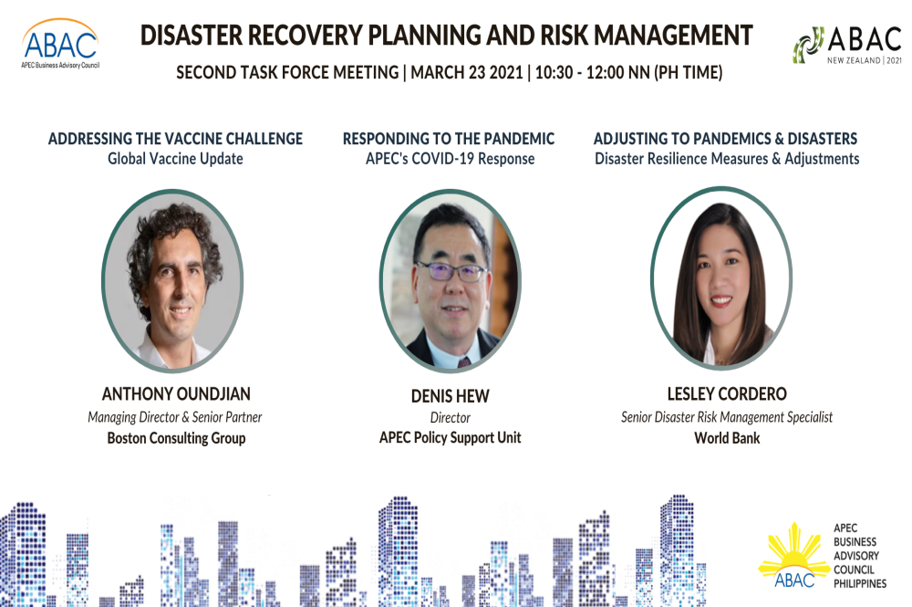 ABAC PH leads work on Disaster Resilience and Risk Management
